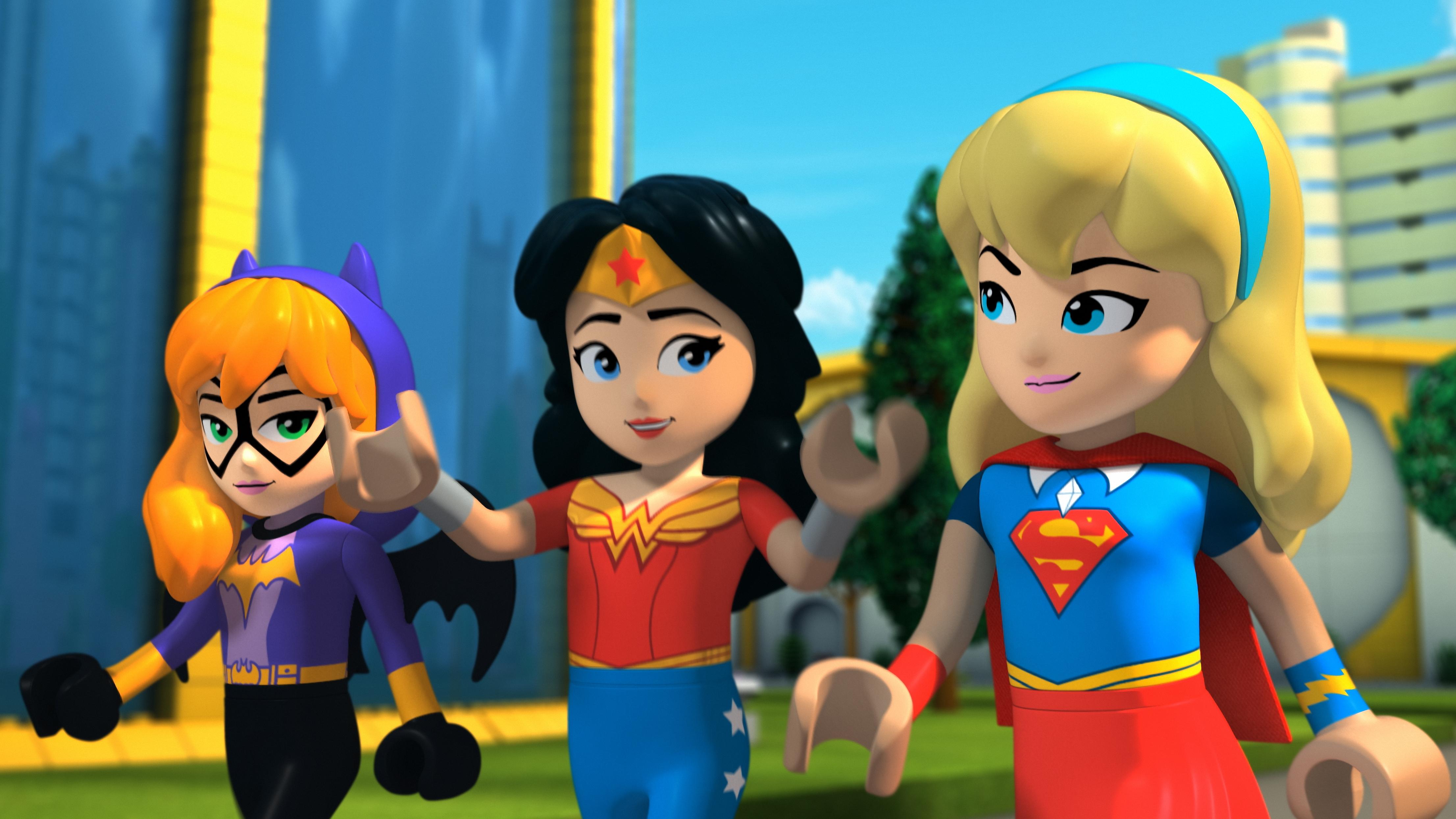 Lego DC Super Hero Girls Wallpaper Full HD