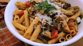 Mediterranean Pasta High Quality Wallpaper