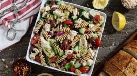 Mediterranean Pasta Wallpaper Download