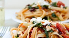 Mediterranean Pasta Wallpaper For Mobile