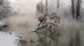 Mist Over Water Best Wallpaper