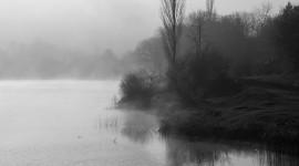 Mist Over Water Desktop Wallpaper