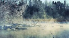 Mist Over Water Photo Free