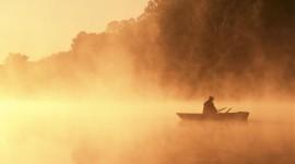 Mist Over Water Wallpaper 1080p