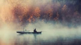 Mist Over Water Wallpaper For Desktop