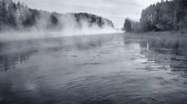 Mist Over Water Wallpaper Full HD