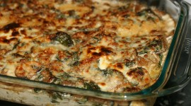 Mushroom Casserole Wallpaper Download Free