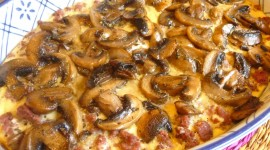 Mushroom Casserole Wallpaper Full HD