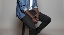 Omar Sy Wallpaper For IPhone Download