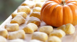 Pumpkin Gnocchi High Quality Wallpaper