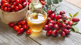 Rose Hip Tea Desktop Wallpaper HD