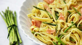 Salmon Pasta Wallpaper Gallery