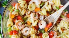 Shrimp Pasta Best Wallpaper