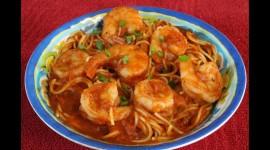 Shrimp Pasta Wallpaper Download