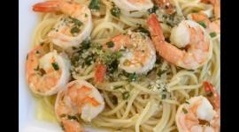 Shrimp Pasta Wallpaper Download Free