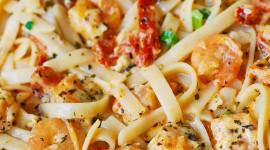 Shrimp Pasta Wallpaper Free