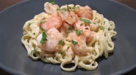 Shrimp Pasta Wallpaper Full HD