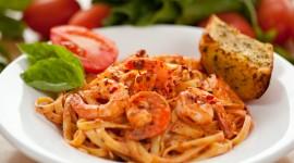 Shrimp Pasta Wallpaper HD