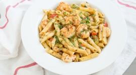 Shrimp Pasta Wallpaper HQ