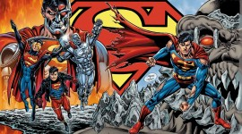 The Death Of Superman Wallpaper For PC
