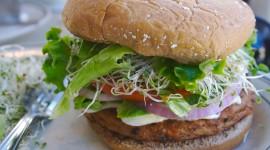 Vegetarian Burger Wallpaper 1080p