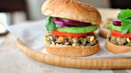 Vegetarian Burger Wallpaper Download