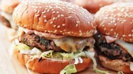 Vegetarian Burger Wallpaper For PC