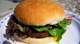 Vegetarian Burger Wallpaper Full HD