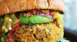 Vegetarian Burger Wallpaper Gallery