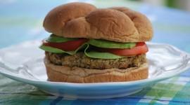 Vegetarian Burger Wallpaper High Definition
