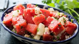 Watermelon Salad Wallpaper 1080p