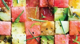 Watermelon Salad Wallpaper High Definition