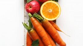 Apple Carrot Wallpaper HQ