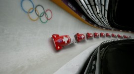 Bobsleigh Track Wallpaper