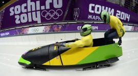 Bobsleigh Track Wallpaper Background