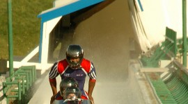 Bobsleigh Track Wallpaper For IPhone