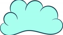Cartoon Clouds Desktop WallpaperCartoon Clouds Desktop Wallpaper