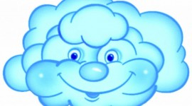 Cartoon Clouds Desktop Wallpaper For PC