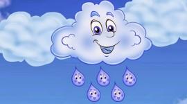 Cartoon Clouds Wallpaper