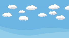 Cartoon Clouds Wallpaper Gallery