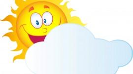 Cartoon Clouds Wallpaper HQ