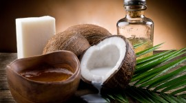 Coconut Oil Wallpaper Full HD