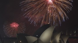 Fireworks In The World Wallpaper For IPhone Free