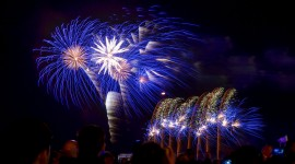 Fireworks In The World Wallpaper For PC
