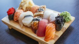 Home Sushi Wallpaper Background