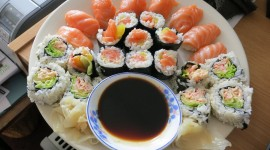 Home Sushi Wallpaper HD