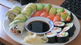 Home Sushi Wallpaper High Definition