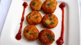 Indian Cutlets Wallpaper