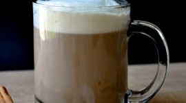 Latte With Syrup Wallpaper Gallery