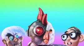 Robot Chicken Wallpaper For IPhone